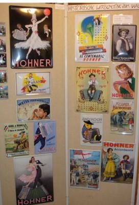 Рекламные плакаты Hohner