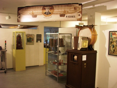 Вход в музей Hohner